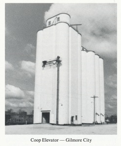 Gilmore City, Iowa, pre-1982.  Click photo to enlarge. **