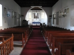 The interior of St. Kitts' St. Mary's Anglican Church